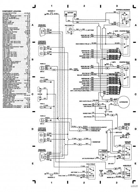 2000 jeep wrangler hvac wiring schematic  jeep grand