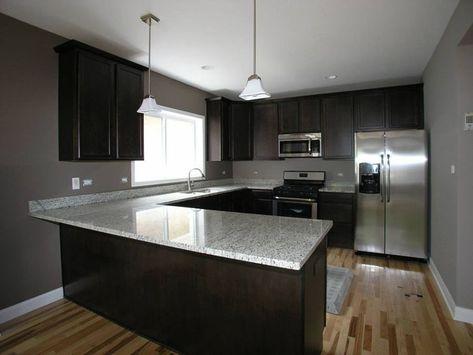 Kitchen Remodel Hardwood Floors Cherry Kitchen Cabinets Granite