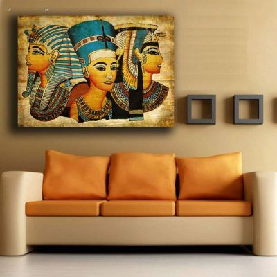 1 Panels Hd Printed The Nile Ruler Nefertiti Wall Art Painting Canvas Print Room Decor Print Poster Picture Canvas P0593 Vendor Egyptian Eye Wall Art Painting Canvas Painting Canvas Pictures