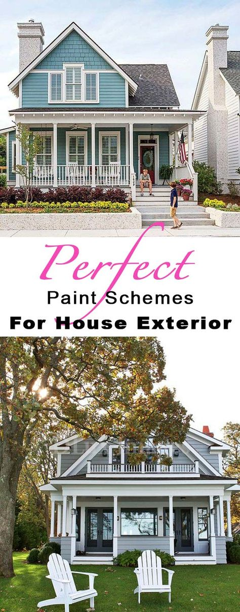 The Perfect Paint Schemes For House Exterior House Paint Exterior Exterior Paint Colors For House Exterior House Colors