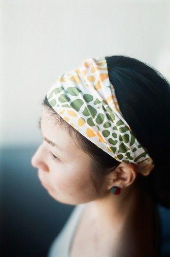 ヘアアレンジの幅を広げてみない ターバンの巻き方 スタイルをご紹介
