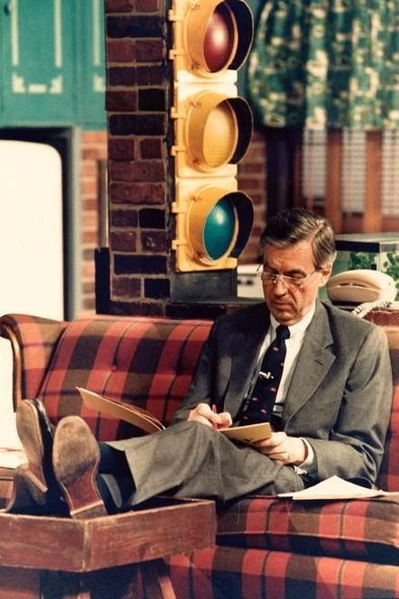 Often During Lunch Breaks In Studio A Now The Fred Rogers Studio At Wqed Pittsburgh Fred Would Catch Up W Mr Rogers Mister Rogers Neighborhood Fred Rogers