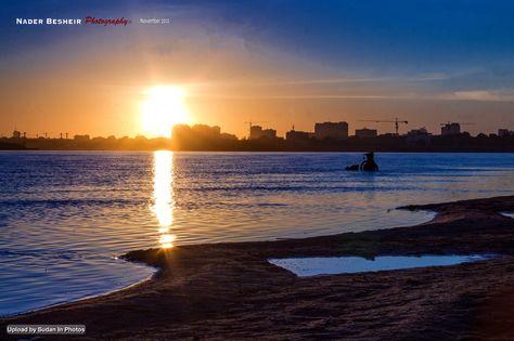 Nile Sunrise Khartoum شروق في النيل الخرطوم السودان By Nader Besheir Sudan Khartoum Nile Sunrise Photo Outdoor Beach