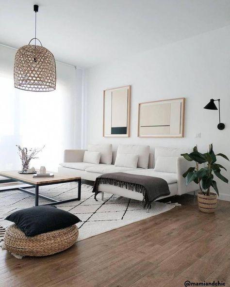 Netural Living Room Decor #livingroom #modernlivingroom