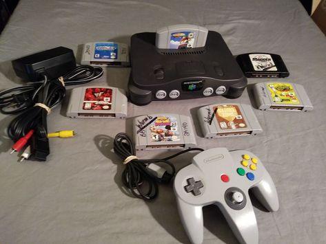 NINTENDO 64 WITH 7 GAMES #Nintendo | GREAT | Nintendo
