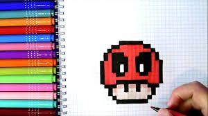 Résultat De Recherche D Images Pour Pixel Art Champignon