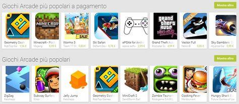 Giochi Arcade Android