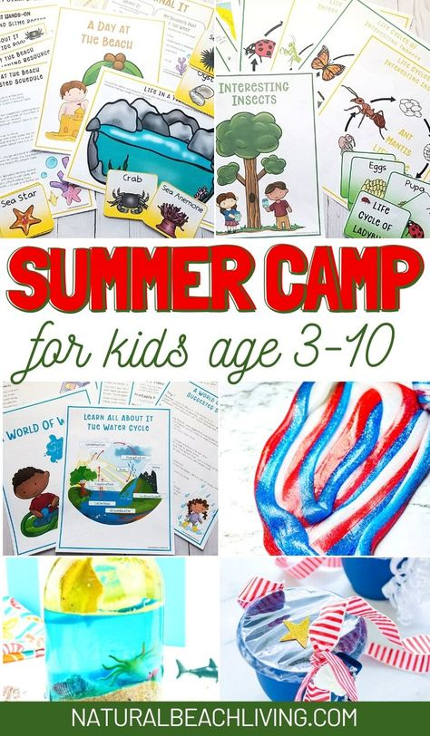 100+ Best Summer Camp at Home Ideas and Activities - Natural Beach Living