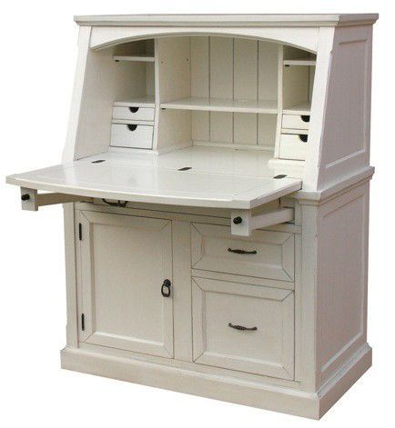 Tuscany Secretary Most Colors Stocked Desks For Small Spaces Small Secretary Desk White Secretary Desk