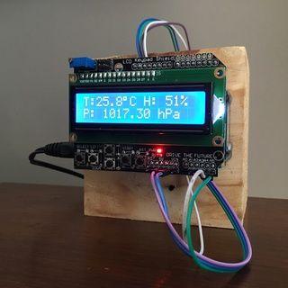 Arduino Easy Weather Station With BME280 Sensor | Arduino