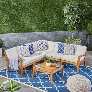 Buy Sectional Outdoor Sofas Chairs Sectionals Online At Overstock Our Best Patio Furniture Deals Patio Furniture Deals Sofa Set Patio Sectional