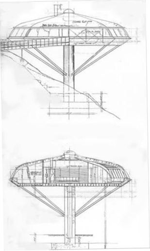 Cool Architecture Drawing john lautner chemosphere | architect // knowledge | pinterest