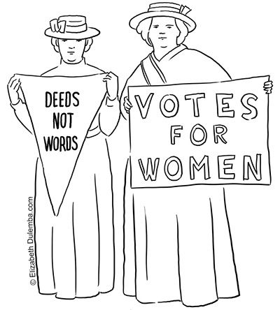 Coloring Page Tuesday Suffragettes Coloring Pages Cross