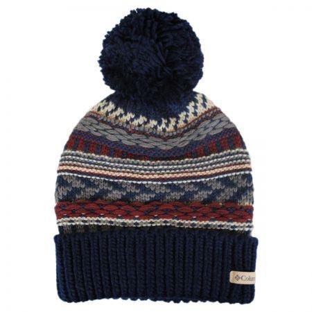 6b1b0e32048 Columbia Sportswear Stay Frosty Pom Knit Beanie Hat