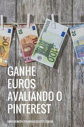 Ganhe Em Euro Avaliando A Busca Do Pinterest Aplicativos Para