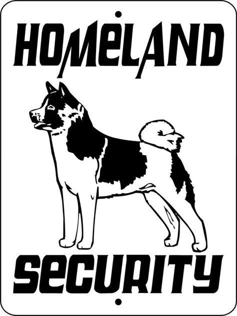 Akita Dog Sign 9 X12 Aluminum Hsakita Doberman Puppies For Sale Doberman