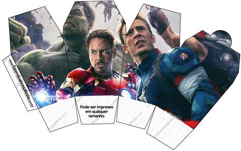 Caixa China In Box Os Vingadores 2 Vingadores Marvel Avengers E