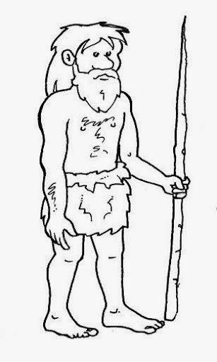 Dibujos Para Colorear Maestra De Infantil Y Primaria Dibujos Para Colorear La Prehistoria Prehistoria Dibujar Historietas Vocales Infantil