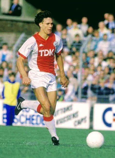 Marco Van Basten of Ajax Amsterdam in 1984.