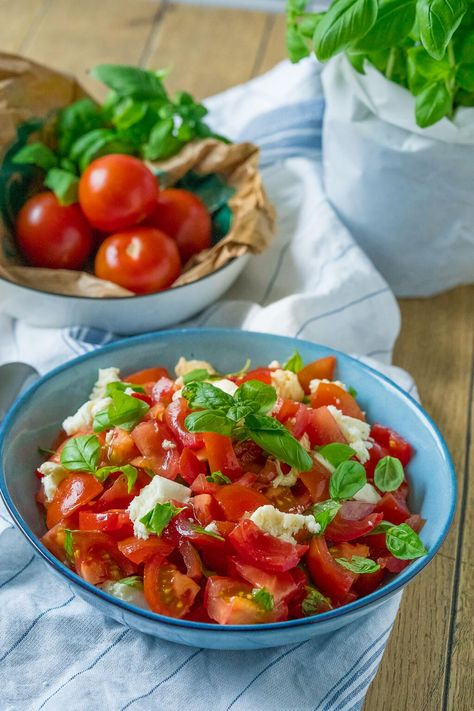 Tomatensalat mit Balsamico