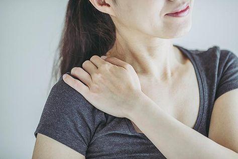 Kalkschulter, Kalkablagerung, Schulterschmerzen