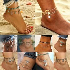 Womens Men Handmade Genuine Leather Bracelet Cuff Bangle Wristband Lovers DL2004