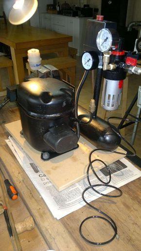 Compresor Sin Ruido Compressor Caseiro Maquinas E Ferramentas