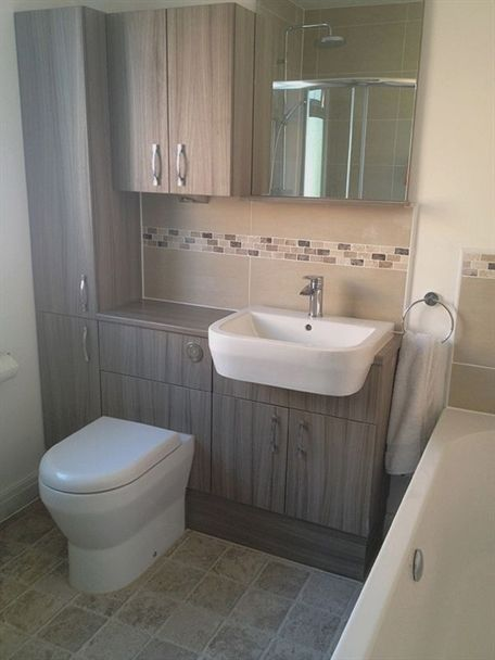 What Was Once A Cupboard Full Of Rubbish Budget Bathroom Remodel Small Toilet Room Small Toilet Design