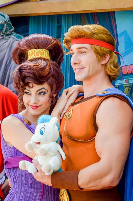Disney Character Costume Hercules and Megara