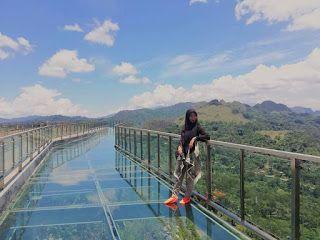 Buntu Burake Jembatan Kaca Patung Yesus Kabupaten Tana Toraja Sulawesi Selatan Photo By Guswayani Gunawan Tempat Permukaan Laut Pemandangan