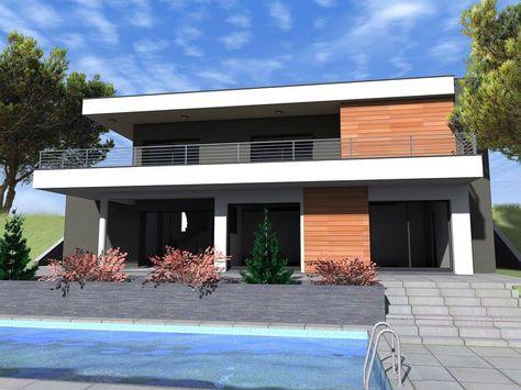 Exemple de maison individuelle Créavilla Perspectives Créavilla - Exemple De Facade De Maison