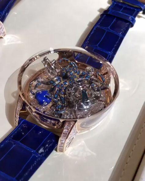 Jacob and Co 捷克豹 Unique Astronomia Tourbillon Watches