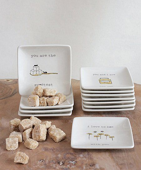 Bring Understated Elegance Into Your Home With These Stoneware Plates That Add A Dash Of Humor To Your Space Plate Sets Stoneware Plates