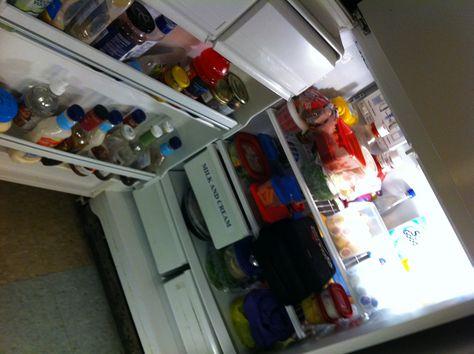 CTV Ottawa Bureau fridge