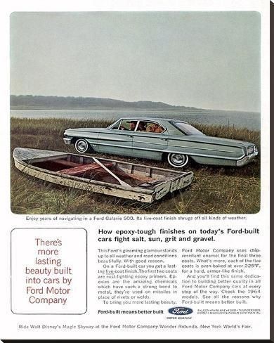 Ford 1964 Galaxie 500 5 Coats Stretched Canvas Print Art Com In 2020 Ford Galaxie Galaxie Galaxie 500