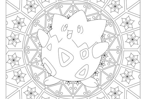 175 Togepi Pokemon Coloring Page Kleurplaten Pokemon Kleuren