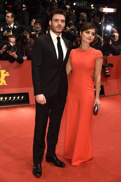 Pin for Later: Das war die 65. Berlinale - seht hier die besten Bilder! Tag 9 Richard Madden und Jenna-Louise Coleman