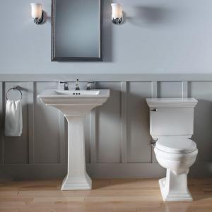 Kohler Memoirs Stately Ceramic Pedestal Bathroom Sink Combo In