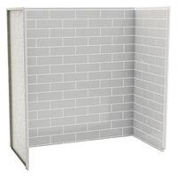 Tub Surround Shower Walls Panels More Lowe S Canada Bathtub Wall Surround Bathtub Walls Shower Wall Panels