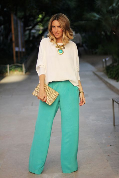 10 Super Chic Palazzo Pant Outfit Ideas Kleding, Broeken
