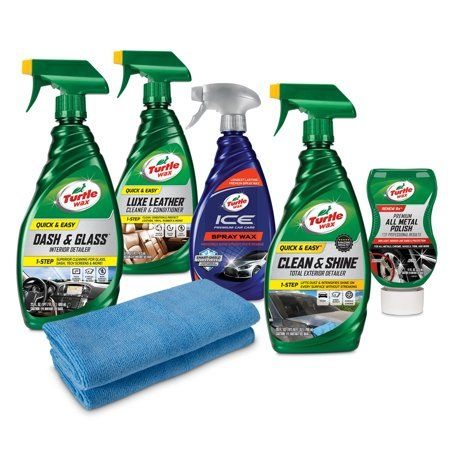 Turtle Wax Ultimate Motorcycle Cleaning Kit Walmart Com Motorcycle Cleaner Car Wax Cleaning Kit