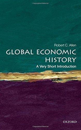 Pdf Download Global Economic History A Very Short Introduction