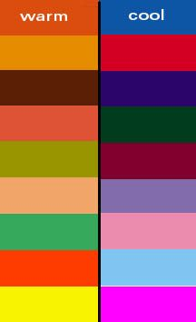 Warm Colors Vs Cool