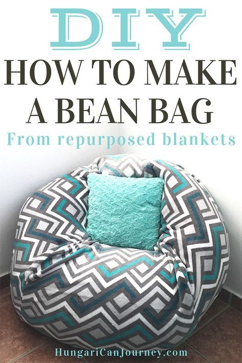 Admirable How To Make A Bean Bag Chair Out Of Old Blankets To Do Caraccident5 Cool Chair Designs And Ideas Caraccident5Info