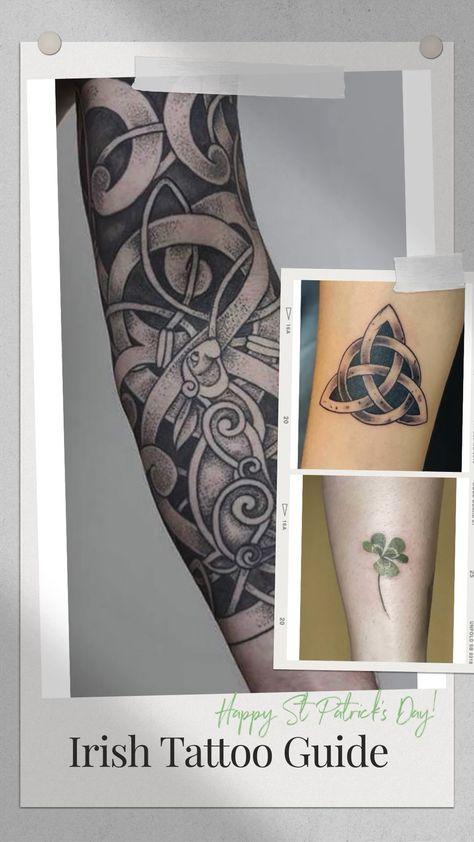 Irish Tattoos For Women and Men