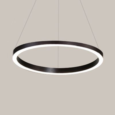 Brown Hoop Chandelier Contemporary 3 Ring Acrylic Led Ceiling Light Fixture In Warm Light In 2020 Led Ceiling Light Fixtures Ceiling Lights Ceiling Light Fixtures