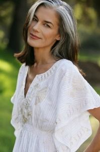 51 year old model - grey! | Hair | Pinterest | Grey, Models and Grey ...