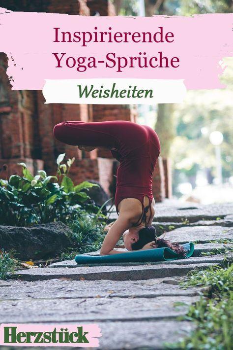Diese Sprüche vno Yogis werden dich inspirieren und verzaubern! #yoga #sprüche #magie #inspiration #sport #gesundheit #körper #geist #achtsamkeit