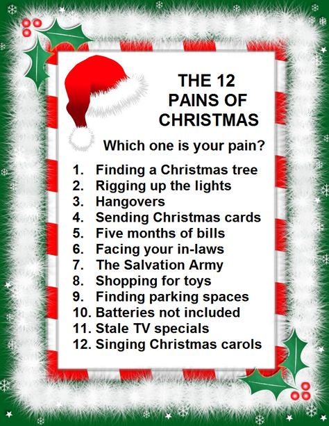 The Twelve Pains Of Christmas.Bob Rivers Comedy Corp Home For The Holidays Send
