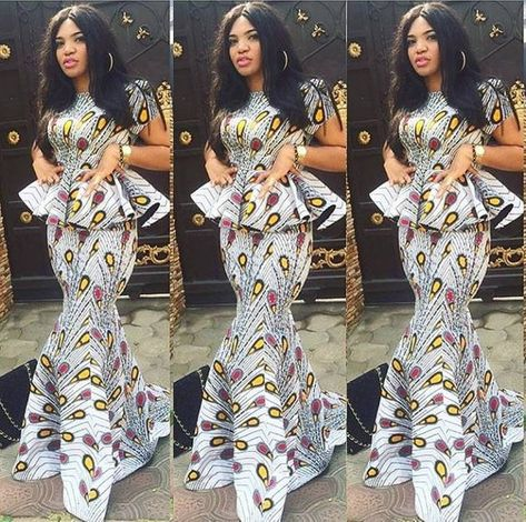 This dress can be made to order in Exact Ankara pattern. It is also available in other colors.  The dress is stoned with decorative stones but buyers can have it without (please indicate)  This African Print dress can be made to order in US sizes 0 - 18. It can also be made to measure in buyers